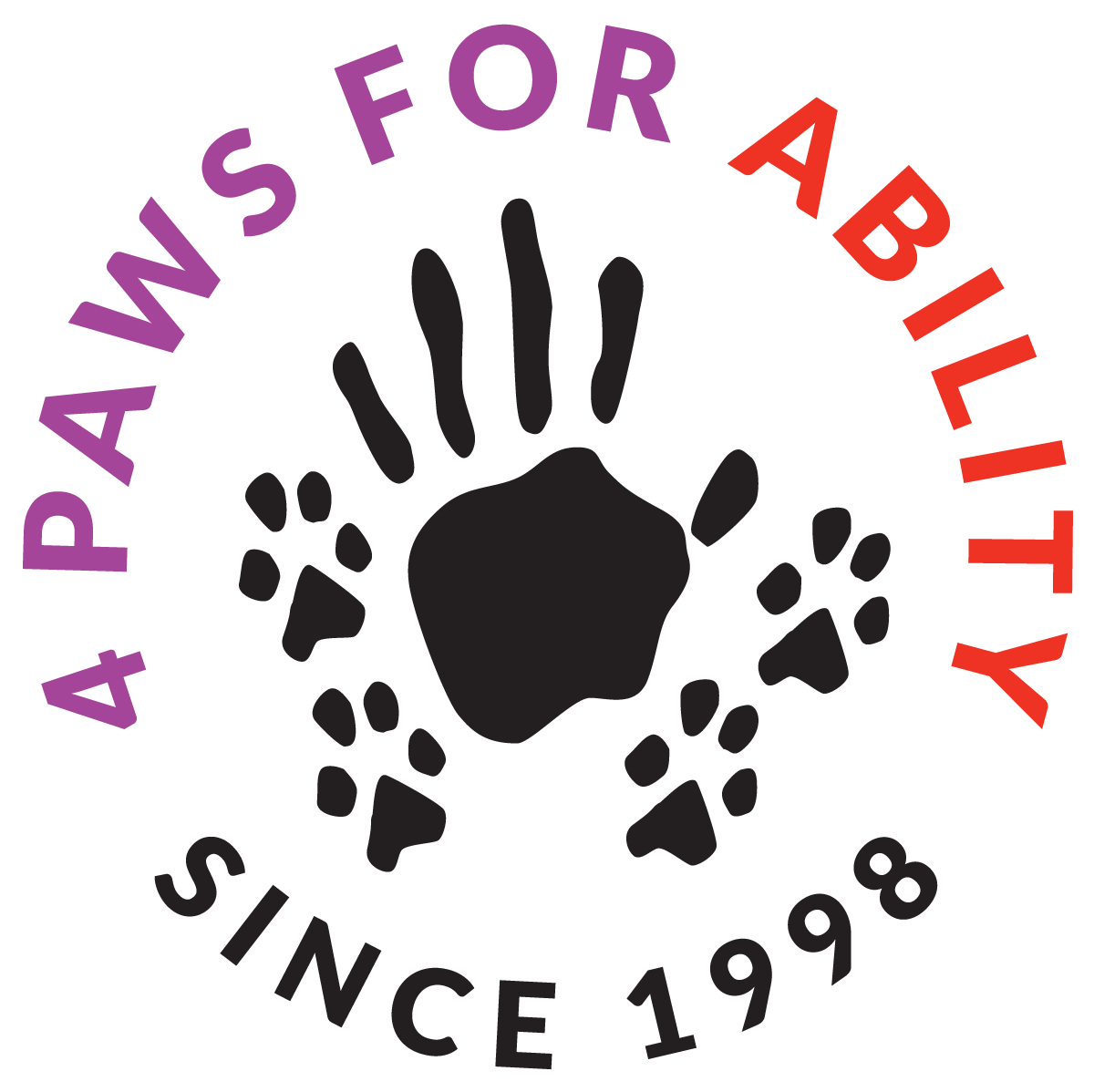 4 Paws For Ability logo