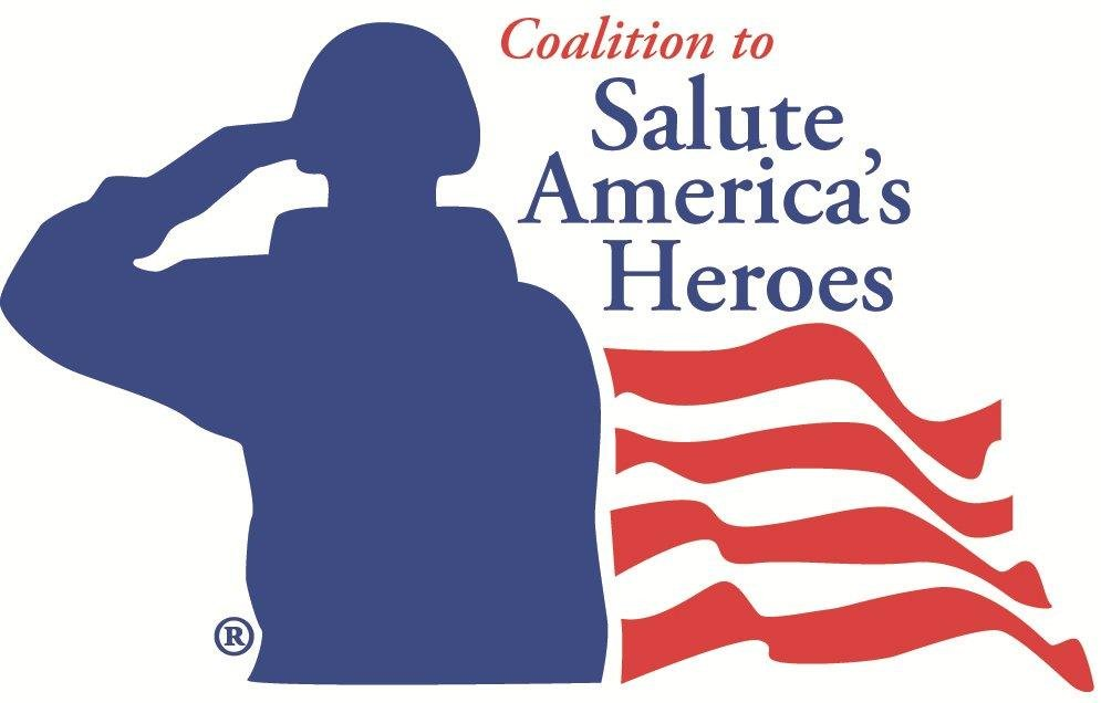 The Coalition to Salute America's Heroes logo