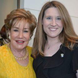Jessica Allen with Senator Dole