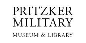 pritzker military museum and library logo