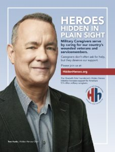 Hidden Heroes PSA featuring Tom Hanks